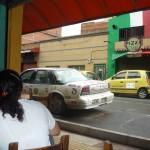 Posilek w Medellin