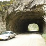Typowy tunel w Andach