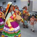 Parada regionalna w La Merced