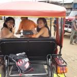 Usmiech do turysty w Iquitos