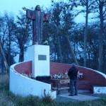 Pomnik Jezusa, opiekuna kierowcow