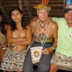 Z wodzem plemienia Bora