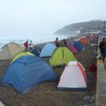 Plazowy kamping w Chimbote