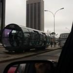 Przystanek autobus., Kurytyba