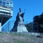 Przed biblioteka w B.Aires
