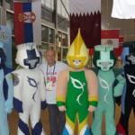 Maskotki Militarnej Olimpiady, Rio