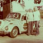 Mariola i tata Antoni Gabriel,1979r