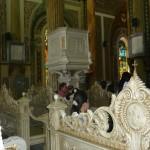 Bogate wnetrze katedry