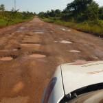 Po deszczu Manaus-Boa Vista