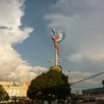 Punkt orientacyjny w Boa Vista