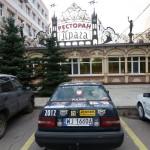 Przed hotelem, Samara