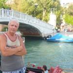 Przy Avenidzie wodnej w Wenecji
