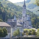Widok Katedry Lourdes