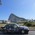 Na tle gory, Gibraltar