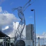 Tancerka Hoola-Hoop, Belfast