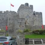 Zamek w Castletown,Man