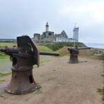 Latarnia morska, punkt  sw. Mateusza na zachodzie Francji